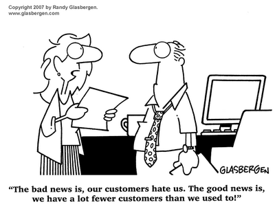 Good customer vs bad one